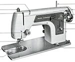 Click here to enlarge image and see more about item smm876: Frister and Rossmann model 35 sewing machine manual