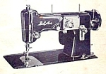 Click here to enlarge image and see more about item smm881: Bel Air 1500  sewing machine manual