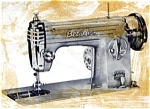Click here to enlarge image and see more about item smm885: Bel Air Stitchmatic 1200 sewing machine manual