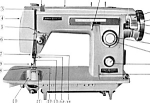 Click here to enlarge image and see more about item smm917: Brother Galaxie 230 sewing machine manual