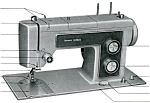 Click here to enlarge image and see more about item smm925: PRINTED Kenmore by Sears 1516 sewing machine manual (smm925)