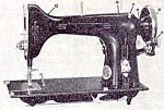 Click here to enlarge image and see more about item smm950: Elgin round bobbin sewing machine manual