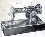 Click here to enlarge image and see more about item smm957: Diamond sewing machine manual