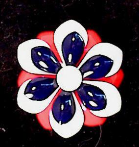 PATRIOTIC~BICENTENNIAL~RED/WHITE/BLUE~ENAMEL (Image1)