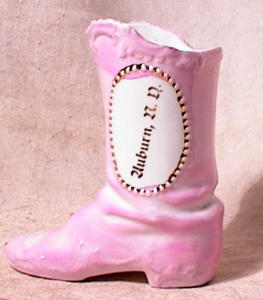 GERMAN PORCELAIN BOOT~AUBURN ND~pre 1940 (Image1)