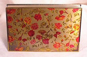 VINTAGE BRASS PURSE COMPACT~MADE IN GERMANY (Image1)