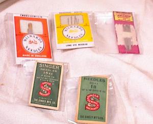 Vintage Sewing Needle Assortment