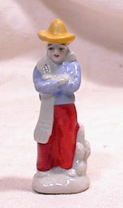 Mexican Figurine - 2 1/2