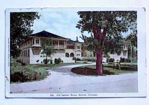 OLD LADIES HOME DENVER COLORADO - UNUSED (Image1)