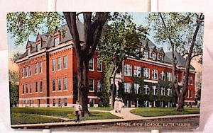 Morse High School Bath Me Postcard