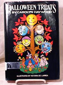 HALLOWEEN TREATS~HAYWOOD~1981~DELARREA~HC/DJ (Image1)