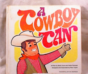 A COWBOY CAN~1974~CLURE/RUMSEY~HC (Image1)