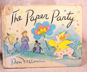 The Paper Party - Don Freeman - Hc/1st Ed/1974