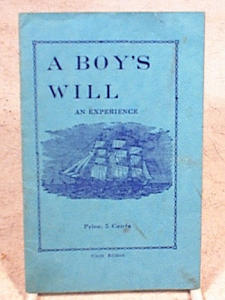 A BOYS WILL~1934 BOOKLET~DOUGLAS MASS (Image1)