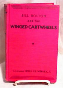 BILL BOLTON~WINGED CARTWHEELS~HC~1933 (Image1)