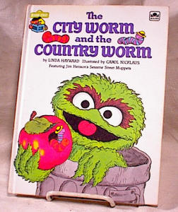 City Worm & Country Worm - Muppetts - Hc - 1983