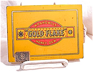 Gold Flake Cigarette Tin