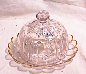 NORTHWOOD ~  COVERED BUTTER ~ CHEESE DISH (Image1)