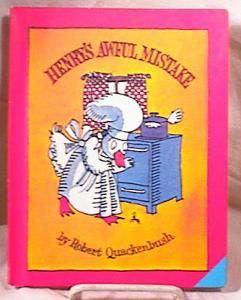 HENRY'S AWFUL MISTAKE~QUACKENBUSH~HC~1980 (Image1)