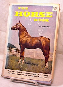 THE HORSE BOOK~HC/DJ~RENDEL~1960 (Image1)