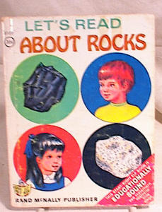Start Right Elf Book - Read About Rocks - 1969