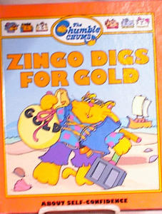 Zingo Digs For Gold - Chumble Chums Book - 1987