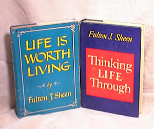 THINK LIFE THROUGH & LIFE WORTH LIVING~SHEEN (Image1)