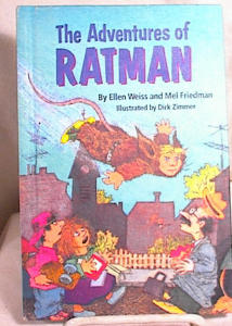 ADVENTURES OF RATMAN~WEISS & FRIEDMAN~HC~1990 (Image1)