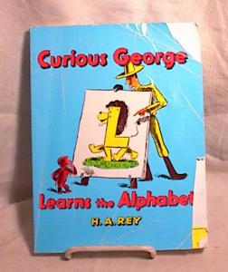 CURIOUS GEORGE LEARNS THE ALPHABET~PB~1963 (Image1)