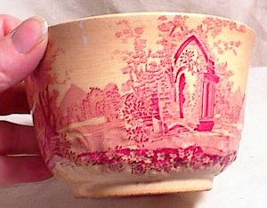 English Abbey - Porridge Cup - Staffordshire