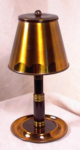 Pop- Up Lamp Shape Cigarette - Match Holder - Ar