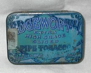 Tobacco Tin...edgeworth Pipe Tobacco