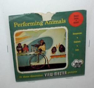 PERFORMING ANIMALS VIEWMASTER REEL				 (Image1)