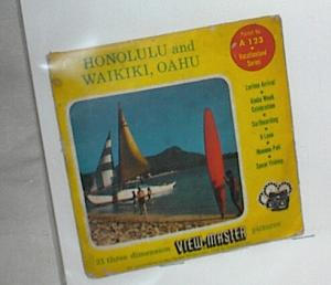 HONOLULU, WAIKIKI ,OAHU VIEWMASTER REEL (Image1)