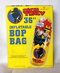 DICK TRACY BOP BAG						 (Image1)