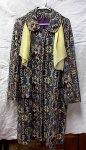 Click here to enlarge image and see more about item 1538: RETRO TAPESTRY COAT OF MANY COLORS