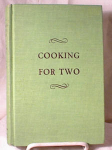 Click here to enlarge image and see more about item 1584: COOKING FOR TWO~LARKIN~HC~5TH ED~1951