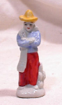 Click here to enlarge image and see more about item 2107: MEXICAN FIGURINE~2 1/2