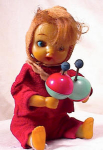 Click to view larger image of RUBBER & TIN WIND UP BABY & RATTLES (Image1)