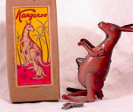 MIOJ WIND-UP HOPPING KANGAROO - BOXED