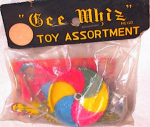 Click here to enlarge image and see more about item 2377: GEE WHIZ MIP BAG OF PENNY TOYS