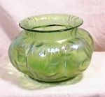 Click here to enlarge image and see more about item 2641: LOETZ RUSTICANA SQUATTY VASE