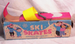 Click here to enlarge image and see more about item 2771: SKI SKATES~BOXED~1960'S~