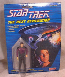 Click here to enlarge image and see more about item 303: STAR TREK~1988~RIKER FIGURE~GALOOB~MOC