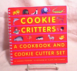 Click here to enlarge image and see more about item 3095: COOKIE CRITTERS COOKBOOK~1ST~1997~PEARSON