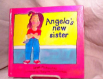 Click here to enlarge image and see more about item 3099: ANGELA'S NEW SISTER~HC/1ST~1988~MATARASSO
