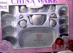 Click here to enlarge image and see more about item 3157: FAO SCHWARTZ 18PC CHILD'S TEA SET-MIP