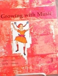 Click to view larger image of GROWING WITH MUSIC ~ 1963 ~ STUDENT SONGBOOK (Image1)