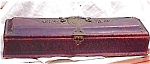 Click here to enlarge image and see more about item 3349: EMBOSSED LEATHER GLOVE BOX