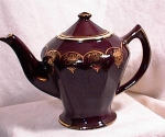 Click to view larger image of HALL TEAPOT - ALBANY - MAHOGANY (Image1)